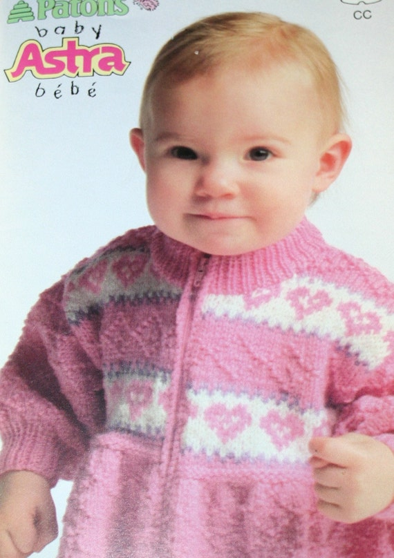 Baby Knitting Patterns Beehive Patons 669 Sweater Hat Pants Etsy