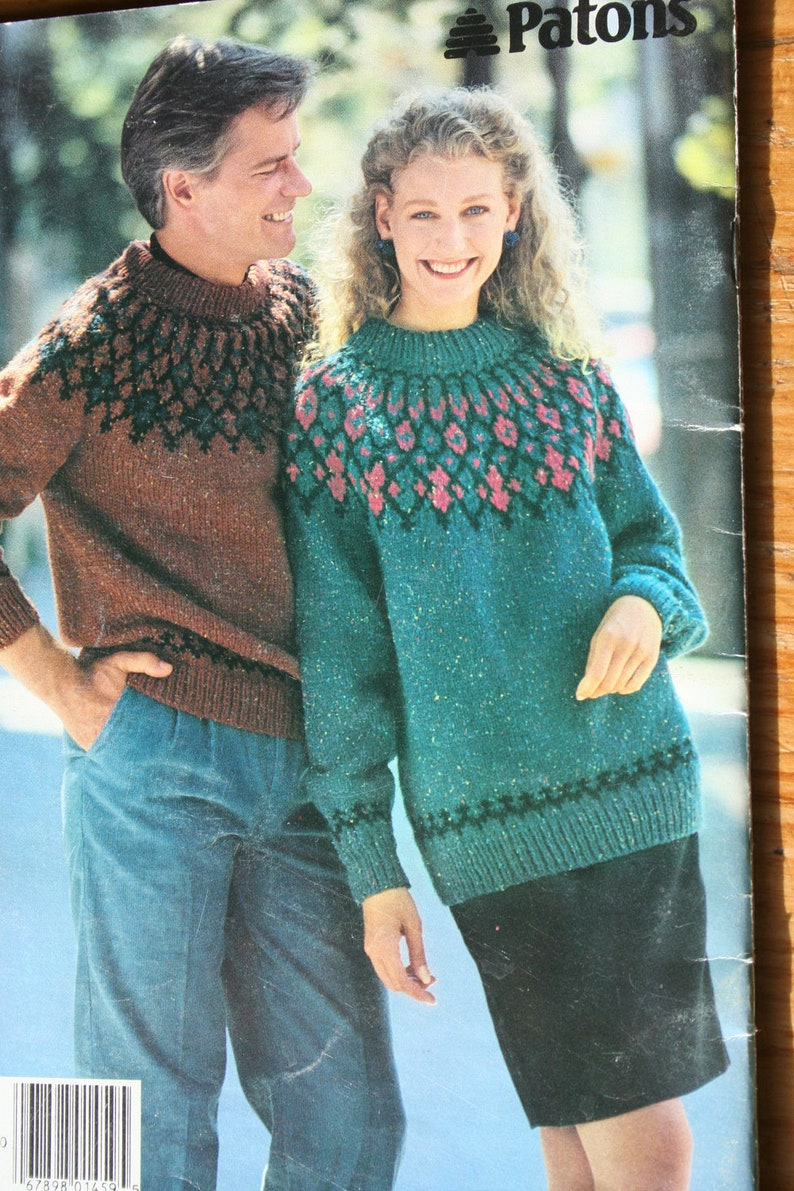 b73a601b0 Sweater Knitting Patterns for Men   Women Beehive Patons