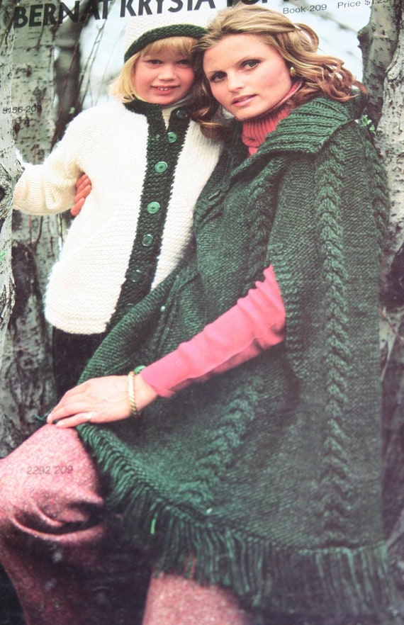 f1dba2afbe9502 Sweater Knitting Patterns Bernat Krysta for the Family Book
