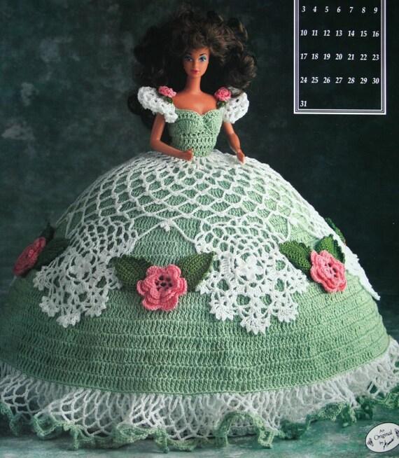 PUPPENKLEID häkeln Muster 115 Zoll Mode Puppe Annie Bett | Etsy