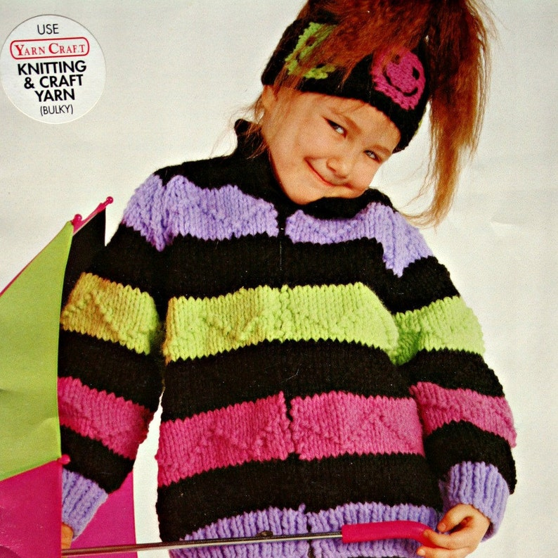 558d5a4ce4a2 Sweater and Cardigan Knitting Patterns in Bulky Weight Yarn