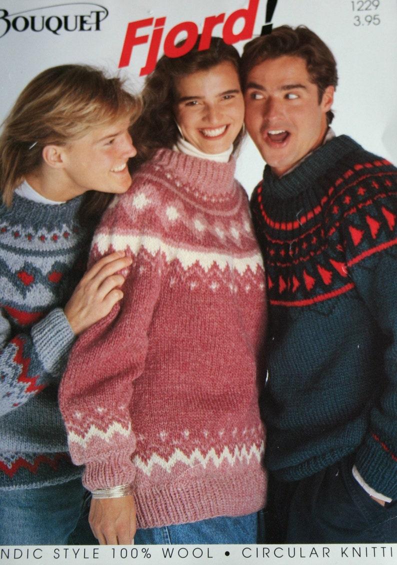 fae47953d9c8 Sweater Knitting Patterns Cardigan Bouquet Fjord 1229 Men