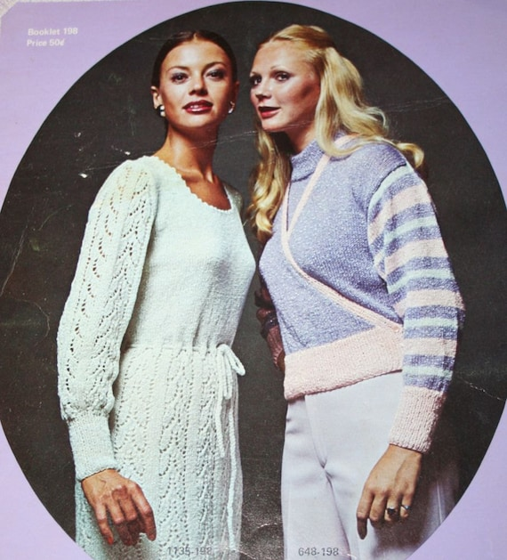 Knitting Patterns Dress Halter Top Shawls Crochet Cardigan Etsy