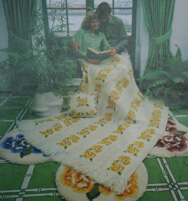 Afghan Crochet & Knitting Patterns Brunswick 788 Blankets image 0