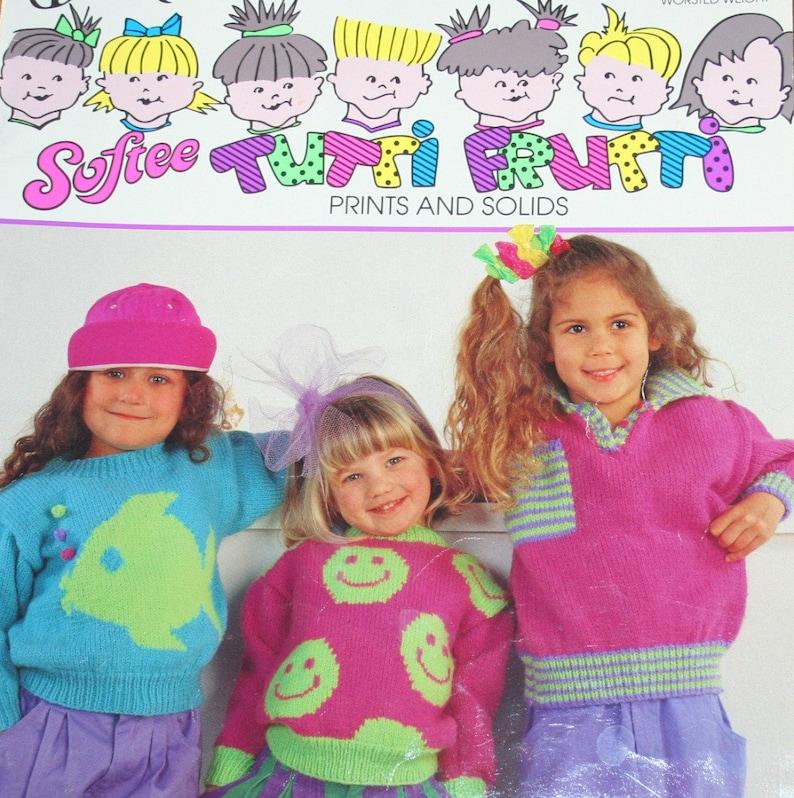 f666ee8b2 Happy Face Sweater Knitting Pattern Tutti Frutti Bouquet
