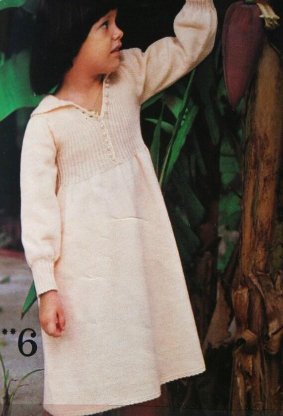 Trui Breien Patronen Haak 3 Suisses 218 Jurk Vrouwen Kinderen Etsy