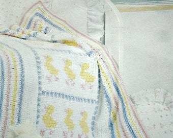 Crochet & Knitting Patterns, Baby Blankets, Red Heart 0116, Afghans