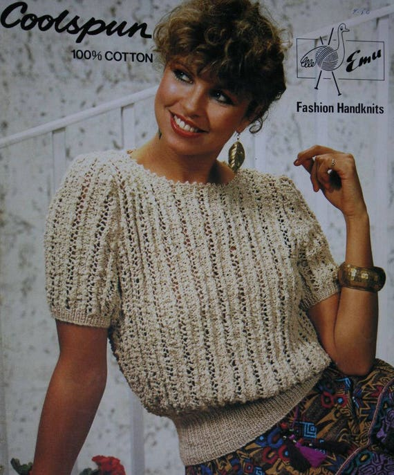 Patterns Coolspun Fashion Sweater Emu Knitting Etsy Handknits gqnHv6