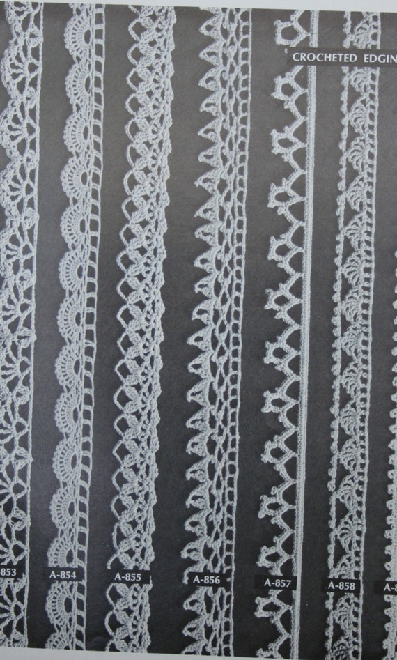 Bordüren-Muster häkeln stricken occhi Haarnadel Spitze Mäntel | Etsy