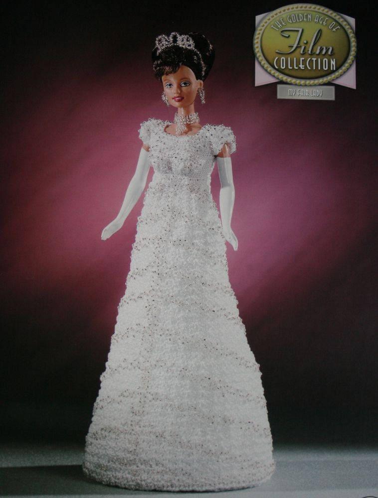 Eliza Dolittle Dress Crochet Pattern My Fair Lady Golden Age | Etsy