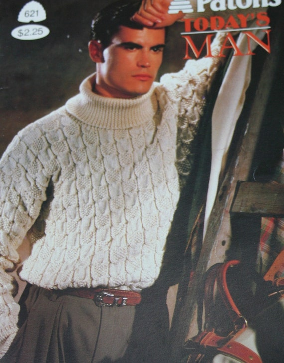 c10e8b376ef2cf Sweater Knitting Patterns Men Today s Man Beehive Patons