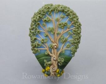 Glass Art Beads - Trees