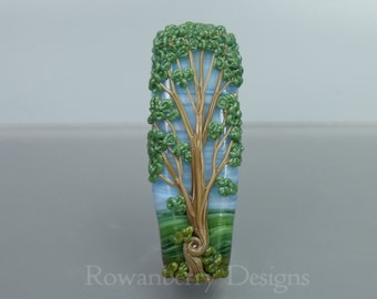Glass Art Beads - Trees