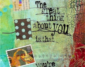 The Great Thing About You  ARTcard
