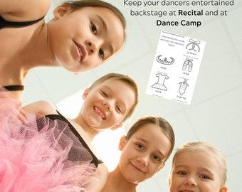 Ballet- activity - games - digital - download -maze - coioring page- worksheet