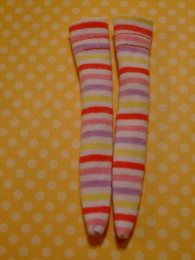 LAST PAIR Reminds Me Of Candy Blythe  DAL Socks