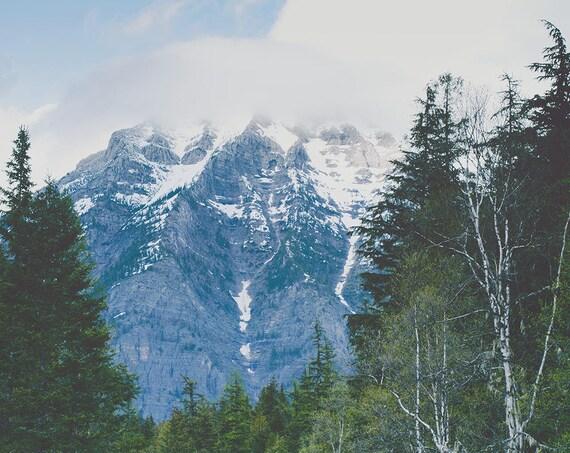 """""""Glacier Roads"""" - landscape photography"""