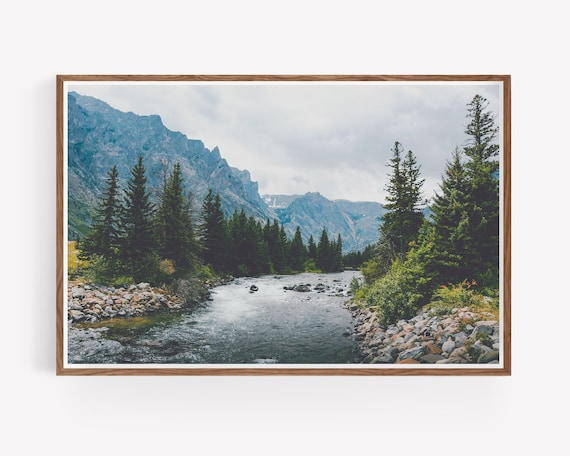 """Rosebud Creek"" - landscape wall art"