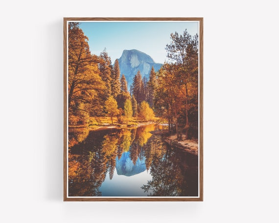 """Half Dome Reflection"""