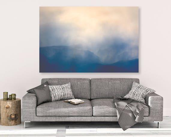 """Beartooths Storm"" - landscape on canvas"