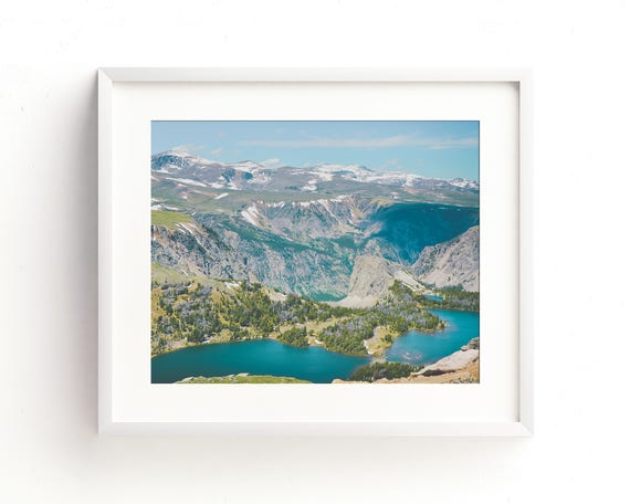 """""""The Twin Lakes"""" - landscape wall art"""