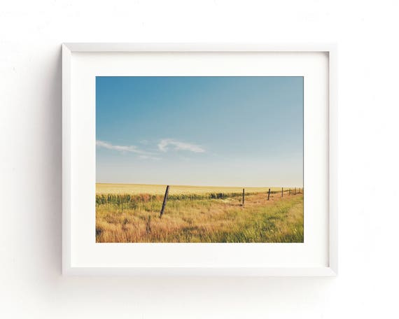 """Hi-Line Fence"" - landscape photography"