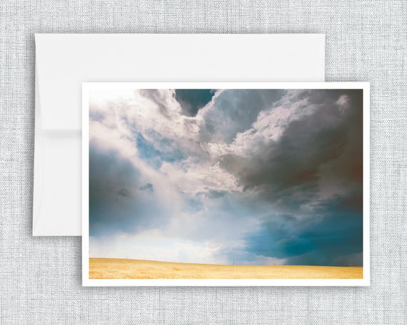 A Light in the Storm - greeting card