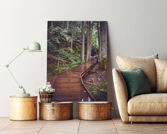 """""""Through the Cedars"""" - photo on canvas"""