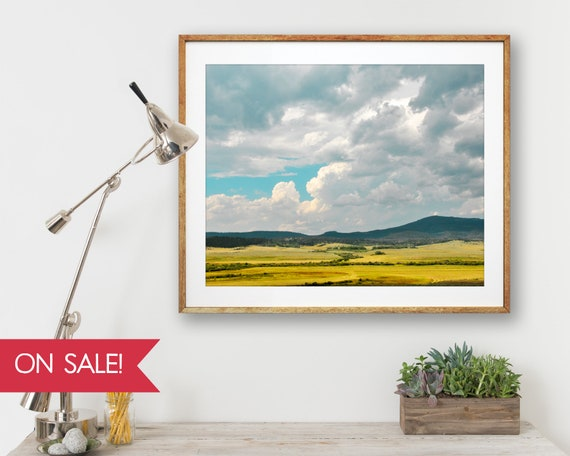 Summer Valley - large wall art