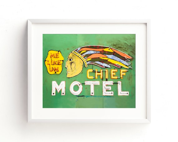 """The Chief Motel"" - fine art photography"