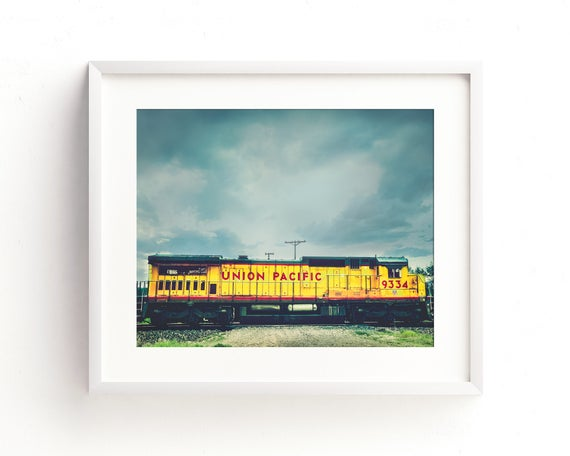 """Union Pacific 9334"" - fine art photography"