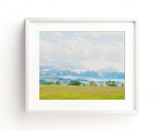 """Paradise Valley"" - landscape wall art"