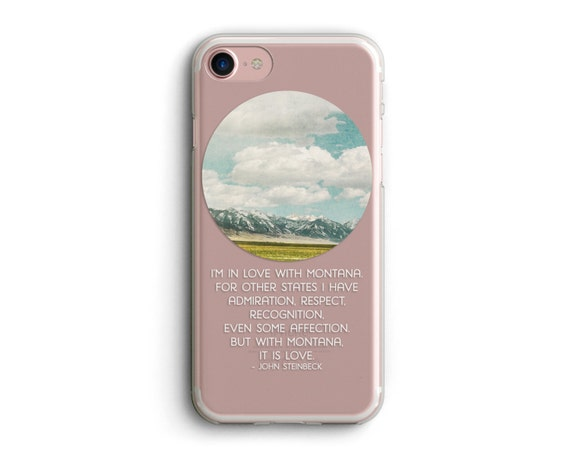 """cell phone case, iphone 6, iphone 6 plus, iphone 7, iphone case, photo art, landscape photo, landscape art, montana - """"In Love with Montana"""""""