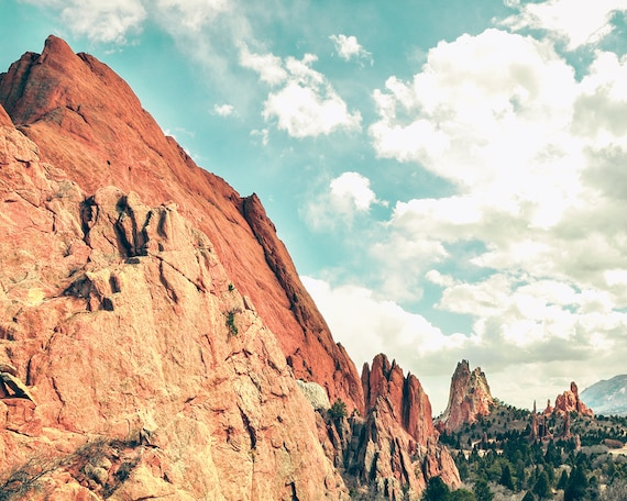 """Garden of the Gods"" - landscape photography"