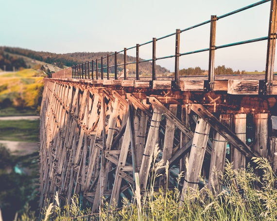 """Spring Creek Trestle"" - landscape photography"
