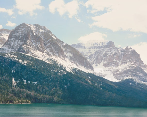 """Saint Mary Lake"" - landscape wall art"
