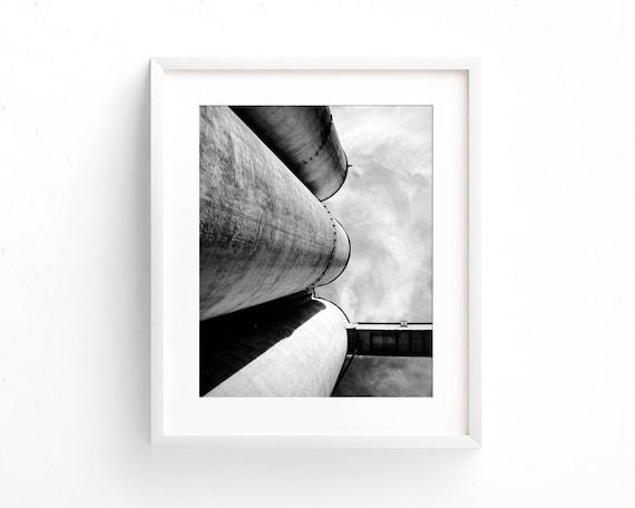 """Silos Trio"" - fine art photography"