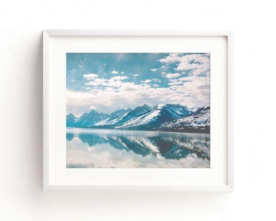 """Tetons Reflection"" - fine art landscape photography"