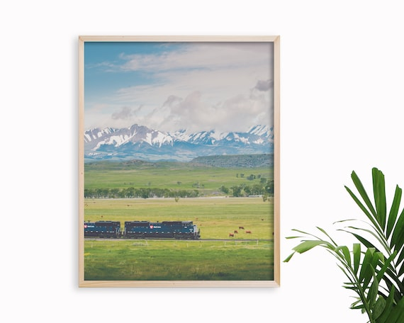 """Across the Country"" - landscape print"