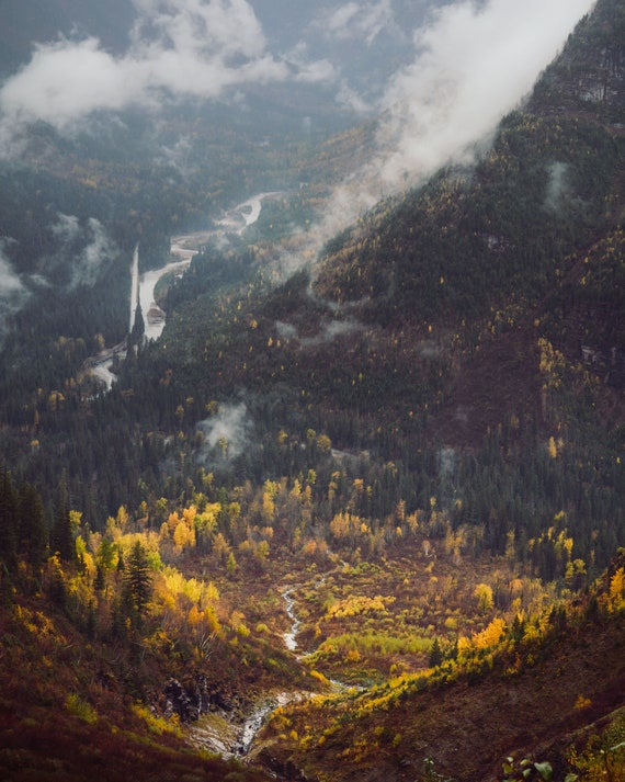 Glacier Valley Fall