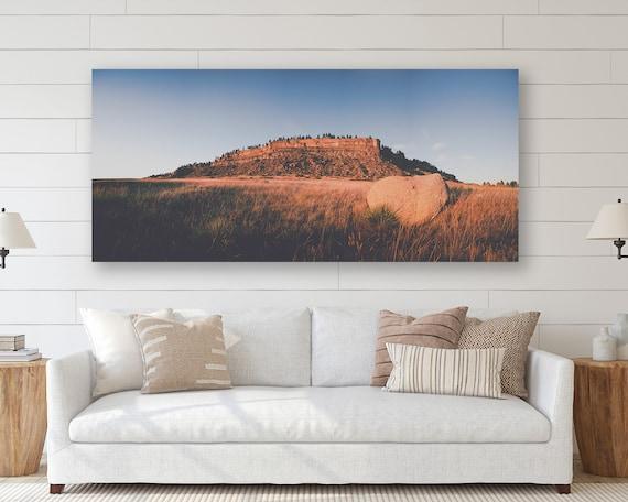 """The Rims"" - panoramic landscape"