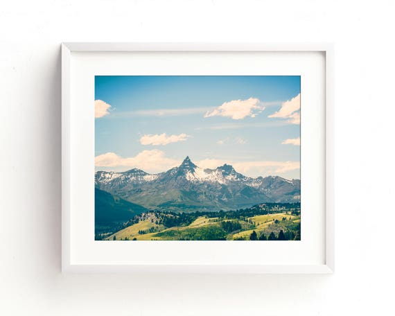 """Going to the Mountains"" - fine art landscape photography"