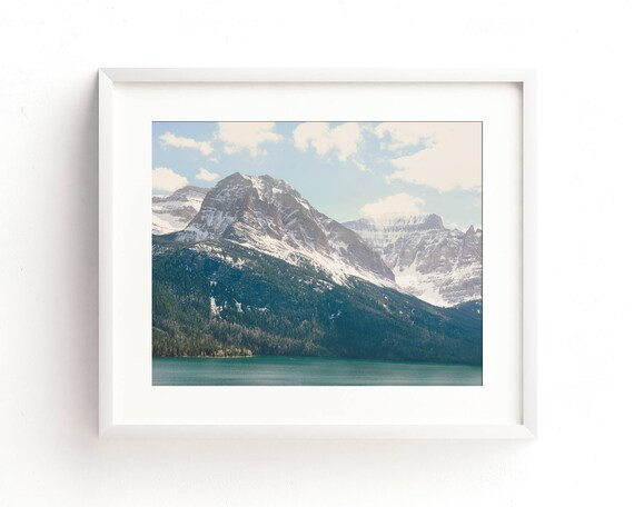 """Saint Mary Lake"" - landscape wall art"