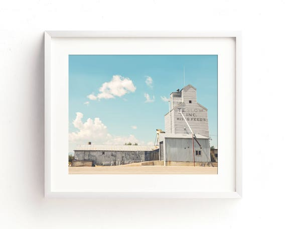 """Teslow Grain Elevator"" - fine art photography"