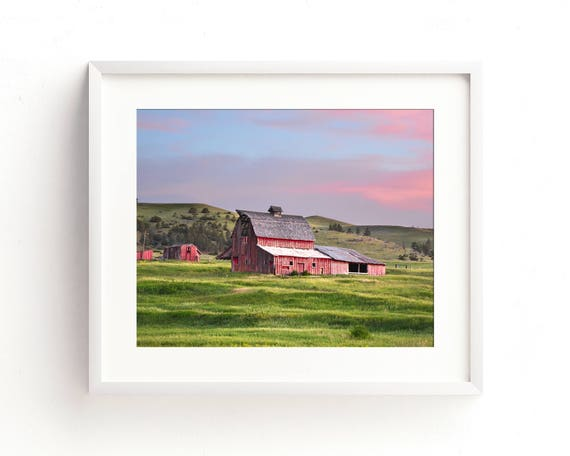 """Sweetgrass Barn"" - landscape photography"
