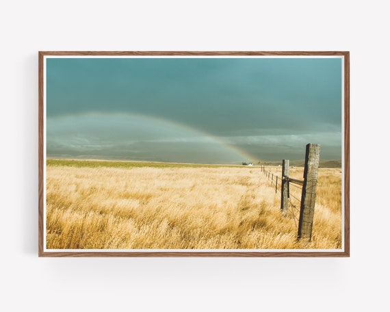 """Farmhouse Rainbow"""