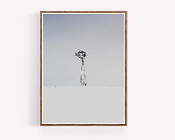 """Winter Windmill"""