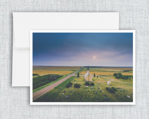 """Crossroads Church"" - greeting card"