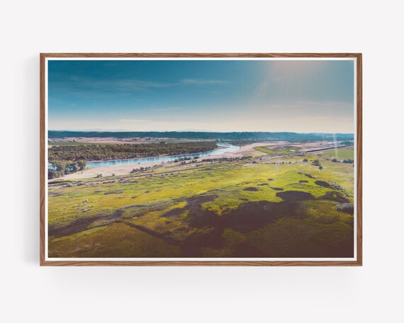 """Yellowstone River Flood Plains"""