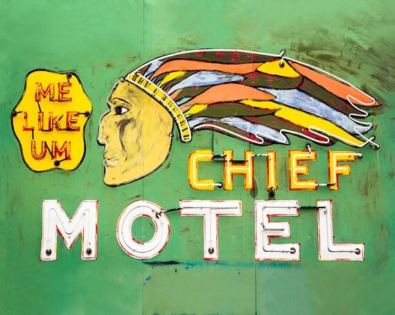 """The Chief Motel"""